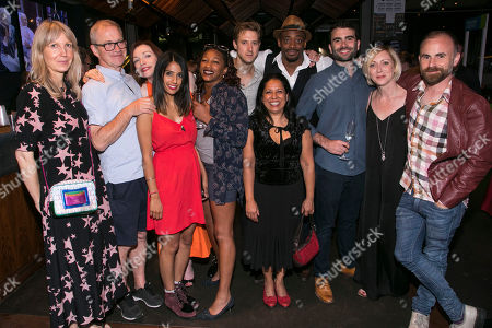 Editorial photo of 'Genesis Inc' party, After Party, London, UK - 28 Jun 2018