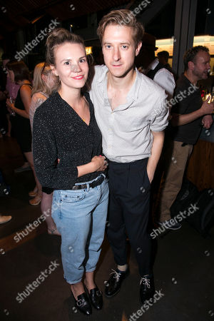 Ines De Clercq and Arthur Darvill (Miles/Abraham)