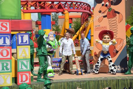 Editorial image of Toy Story Land Opening Preview, Orlando, USA - 28 Jun 2018