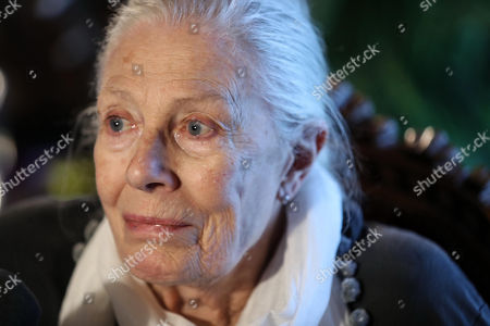 Editorial image of Vanessa Redgrave visit to Palazzo delle Aquile, Palermo, Italy