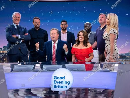 Editorial picture of 'Good Evening Britain' TV show, London, UK - 28 Jun 2018