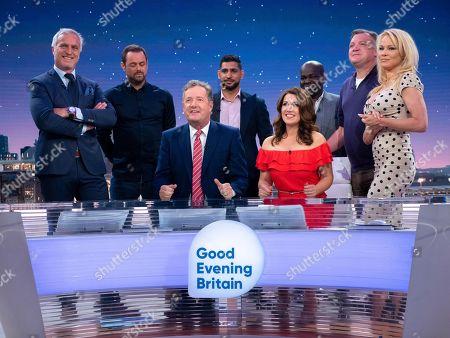 Editorial photo of 'Good Evening Britain' TV show, London, UK - 28 Jun 2018