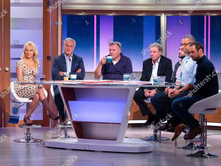 Pamela Anderson, Jeremy Corbyn, Ed Balls, Harry Redknapp, Amir Khan, Daliso Chaponda and James Cleverly, Danny Dyer