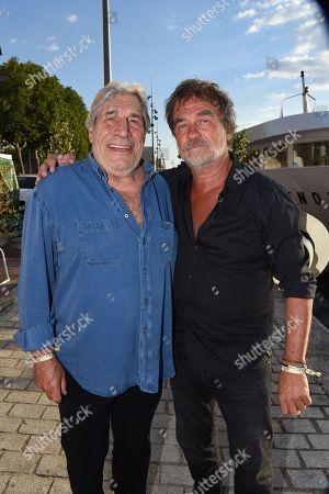 Jean Pierre Castaldi and Olivier Marchal