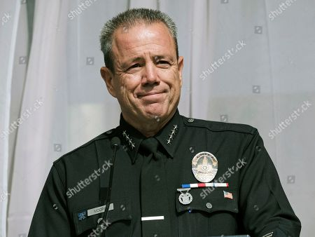 Editorial photo of Police Chief, Los Angeles, USA - 28 Jun 2018