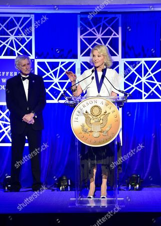 Wynn Resorts co-founder and trustee of the Elaine P. Wynn & Family Foundation Elaine Wynn was honored by the Jefferson Awards Foundation, the nation's most prestigious and longest standing organization dedicated to powering and celebrating public service, at the Foundation's 46th Annual National Gala Celebration at the Mayflower Hotel in Washington on . Wynn was recognized for her tireless advocacy in support of programs and services for children living in poverty