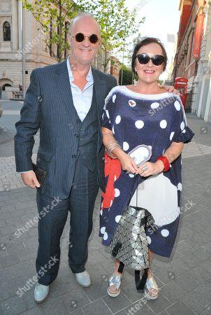 Tim McInnerny and Annie Gosney