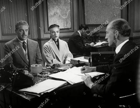 Jill Adams, as Shirley Harcourt, Eddie Byrne, as Supt. Harcourt, John Bushelle, as Ass.Commissioner