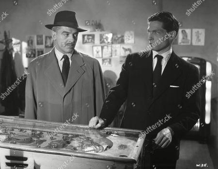 Eddie Byrne, as Supt. Harcourt, Lyndon Brook, as Leslie Parrish