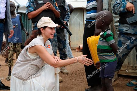 "Actress Ashley Judd meets a refugee boy in Juba, South Sudan, . In her first visit to civil war-torn South Sudan, Ashley Judd had a message for survivors of sexual assault in a country where rape is a widespread weapon. ""I see you, I love you and I'm here for you,"" she said in an interview with The Associated Press"