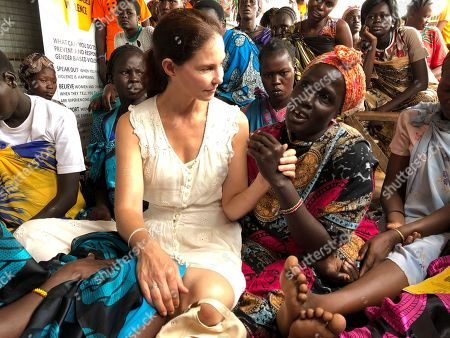 "Actress Ashley Judd meets refugees in Juba, South Sudan, . In her first visit to civil war-torn South Sudan, Ashley Judd had a message for survivors of sexual assault in a country where rape is a widespread weapon. ""I see you, I love you and I'm here for you,"" she said in an interview with The Associated Press"