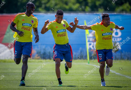 Editorial photo of Colombia training, Kazan, Russian Federation - 29 Jun 2018