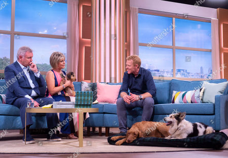 Eamonn Holmes and Ruth Langsford with Adam Henson