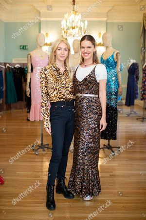Sabine Getty and Eugenie Niarchos
