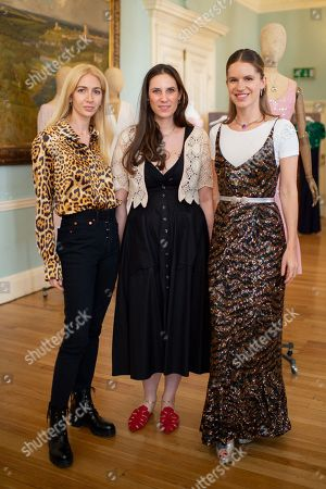 Sabine Getty, Tatiana Santo Domingo and Eugenie Niarchos
