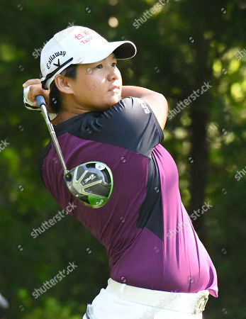 Yani Tseng, of Taiwan, watches her tee shot on the 12th hole during the second round of the KPMG Women's PGA Championship golf tournament at Kemper Lakes Golf Club in Kildeer, Ill