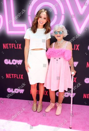 Stock Picture of Britt Baron and Baddie Winkle