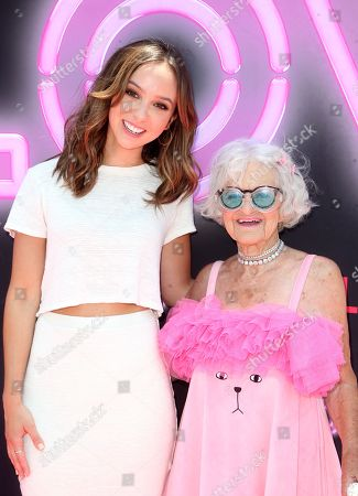 Stock Image of Britt Baron and Baddie Winkle