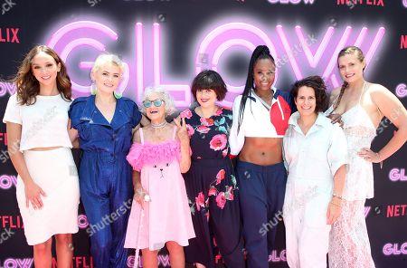 Stock Image of Britt Baron, Kimmy Gatewood, Baddie Winkle, Rebekka Johnson, Sydelle Noel, Beth Morgan, Marianna Palka