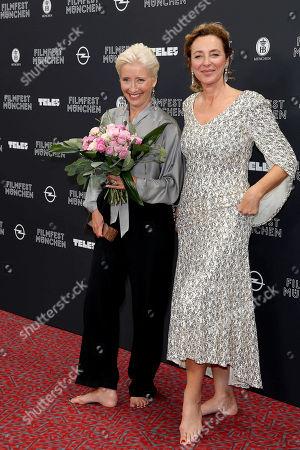 Emma Thompson and Diana Iljine
