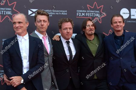 Editorial picture of 'Almost Fashionable, A film about Travis' film premiere, 72nd Edinburgh International Film Festival, Scotland, UK - 29 Jun 2018