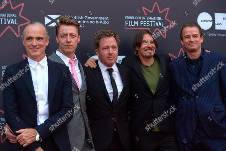 Editorial image of 'Almost Fashionable, A film about Travis' film premiere, 72nd Edinburgh International Film Festival, Scotland, UK - 29 Jun 2018