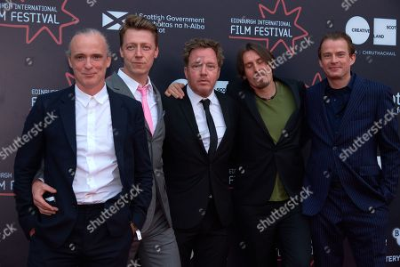 Stock Picture of Fran Healy, Dougie Payne, Andy Dunlop, Neil Primrose, Wyndham Wallace