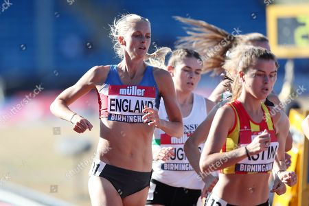 Stock Photo of Hannah England in the women's 1500m heat
