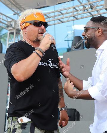 Guy Fieri, DJ Irie