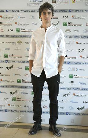 Editorial picture of Nastri d'Argento (Silver Ribbon) awards in Taormina, Italy - 30 Jun 2018