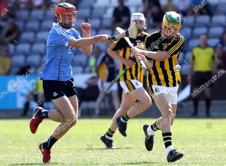Stock Picture of Dublin vs Kilkenny. Dublin's Iain O'Heither and Ciaran Brennan of Kilkenny