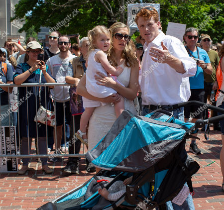 Editorial picture of Thousands join in nationwide protests against immigration policies of President Trump, Boston, USA - 30 Jun 2018