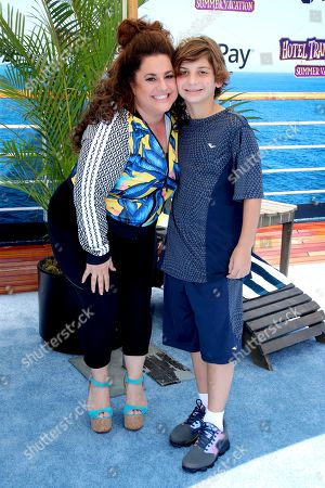 Marissa Jaret Winokur and son Zev