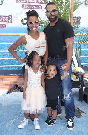 Shanola Hampton and family