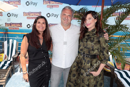 Michelle Murdocca, Producer, Genndy Tartakovsky, Director/Writer, and Kathryn Hahn