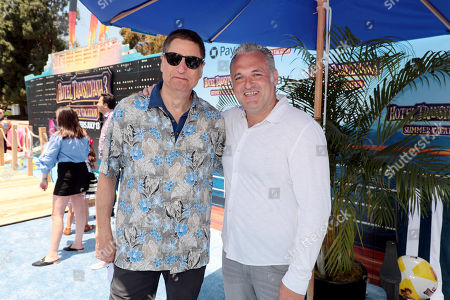 Tom Rothman, Chairman, Sony Pictures Entertainment Motion Picture Group, and Genndy Tartakovsky, Director/Writer,