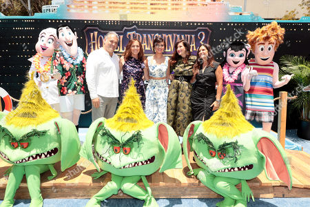 Editorial picture of Columbia Pictures and Sony Pictures Animation world film premiere of 'Hotel Transylvania 3: Summer Vacation', Los Angeles, USA - 30 Jun 2018