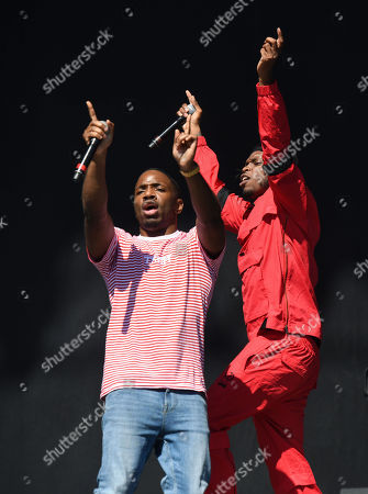 Krept X Konan in concert on the main stage