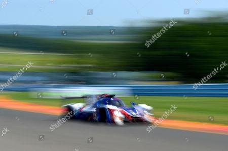 The #32 United Autosports, Ligier LMP2 driven by Phil Hanson, of Great Britain, Bruno Senna, of Brazil and Paul Di Resta, of Great Britain during the IMSA WeatherTech SportsCar Championship Sahlen's Six Hours of The Glen on at Watkins Glen International in Watkins Glen, New York