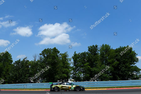 The #36 CJ Wilson Racing, Acura NSX GT3 driven by Marc Miller, of the United States and Till Bechtolsheimer, of Great Britain during the IMSA WeatherTech SportsCar Championship Sahlen's Six Hours of The Glen on at Watkins Glen International in Watkins Glen, New York