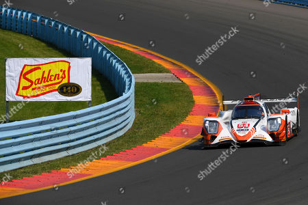 The #54 CORE autosport, ORECA LMP2 driven by Jonathan Bennett, of the Untied States, Colin Braun, of the United States and Romain Dumas, of France during the IMSA WeatherTech SportsCar Championship Sahlen's Six Hours of The Glen on at Watkins Glen International in Watkins Glen, New York