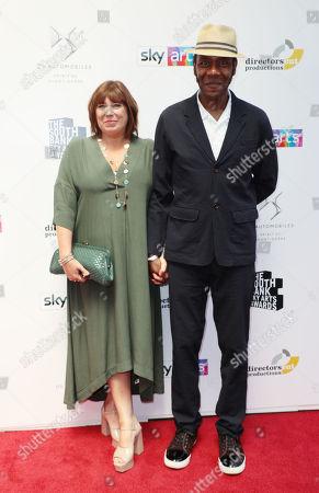 Sir Lenny Henry and Lisa Makin