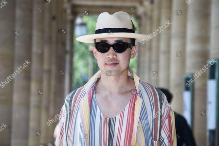 Editorial picture of Street Style, Spring Summer 2019, Paris Fashion Week Men's, France - 21 Jun 2018