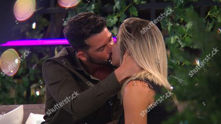 Dean Overson kisses Megan Barton Hanson