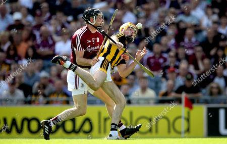 Galway vs Kilkenny. Galway's Padraig Mannion and Billy Ryan of Kilkenny