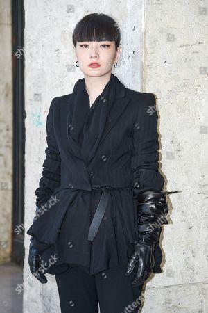 Stock Picture of Ann Demeulemeester, Akimoto Kozue