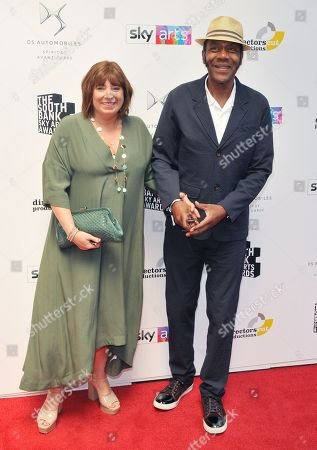 Lisa Makin and Sir Lenny Henry