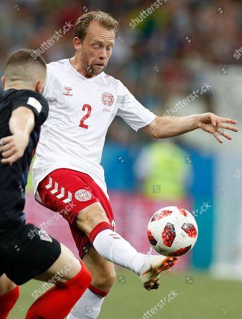 Editorial picture of Russia Soccer WCup Croatia Denmark, Nizhny Novgorod, Russian Federation - 01 Jul 2018