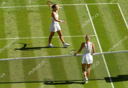 Caroline Wozniacki beats Varvara Lepchenko in their Ladies' Singles first round match