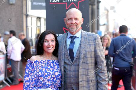Editorial photo of 'Swimming with Men' premiere, 72nd Edinburgh International Film Festival, Scotland, UK - 01 Jul 2018